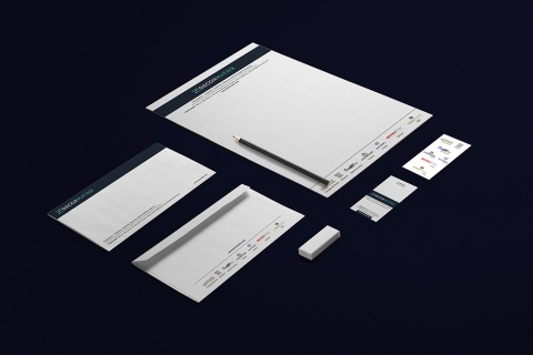 Stockiest company stationery design