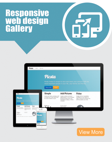 responsive webdesign gallery