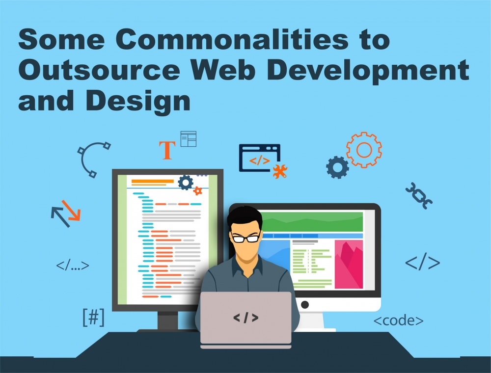 Some Commonalities to Outsource Web Development and Design