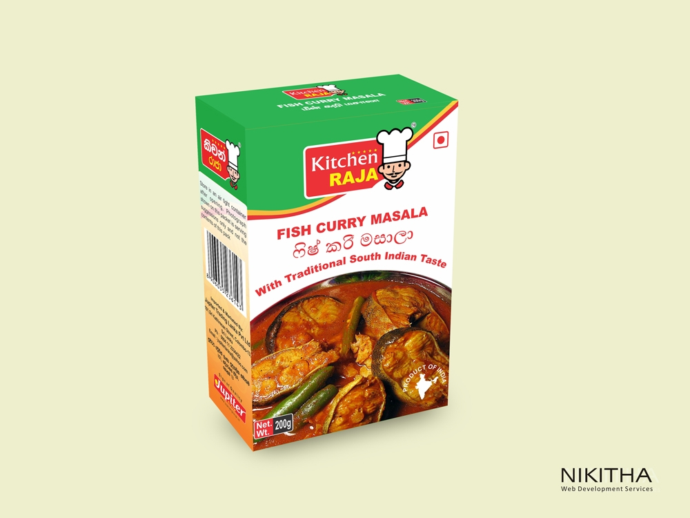 Masala Box Packaging design