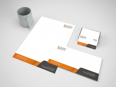 Studio stationery design