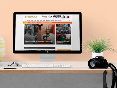 news portal website design